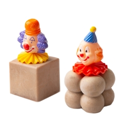 Purim Hand-Crafted Decorative Chocolate Clown Truffles