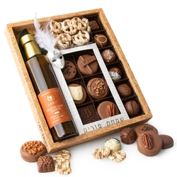 Purim Dairy Chocolate Collection Shalach Manos Gift