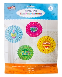 Hanukkah Decoration Fans Kit