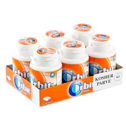 Orbit Sugar-Free Orange Gum Tabs - 6CT Jars