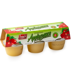 Passover Single-Serve Unsweetened Apple Sauce - 4 OZ - 6CT