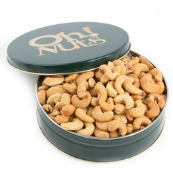 Holiday Roasted Cashews Gift Tin