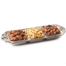 Simcha Selection Nut Dishes Gift Basket