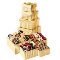 Holiday 4-Tier Gift Tower