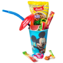 CHEERY - Kids Purim Disney Cup Tin Mishloach Manos - 12 Pack