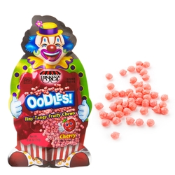 Oodles Purim Clown Tiny Tangy Cherry Fruity Chews - 24CT