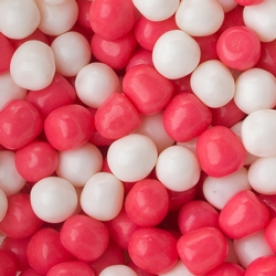 Sour Pink & White Candy Balls Mix