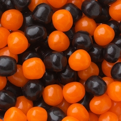 Sour Orange & Black Candy Balls Mix