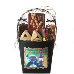 Purim Large Wall Pocket Gift Basket Mishloach Manos