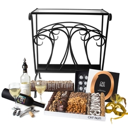 Purim Magazine Table Gift Basket Mishloach Manos