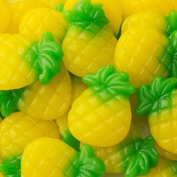 Passover Pineapple Gummies - 1.1 LB Bag