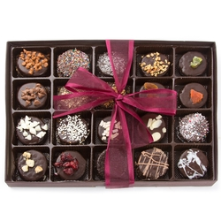 20 Variety Chocolate Cookies Gift Box - 20CT