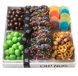 ORGANIZED - Candy & Chocolate Purim Gift Tray Mishloach Manos