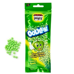 Oodles Tiny Tangy Apple Fruity Chews Bags - 24 CT Box