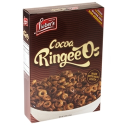 Passover Cocoa RingeeO's Cereal