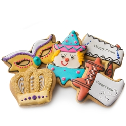 Purim Decorative Cookies Favor