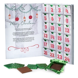 Oh! Nuts Holiday Chocolate Variety Advent Calendar Gift Box