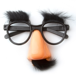 Funny Mustache Disguise Mask Glasses