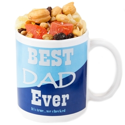 Father's Day Mug With Trail Mix