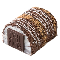 Passover Medium Decorative Crunchy Chocolate Log