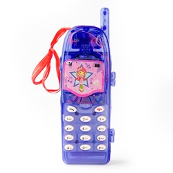 Strawberry Shortcake Purple Musical Phone