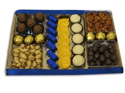 Hanukkah 5 Sectional Chocolate Combo - Israel Only