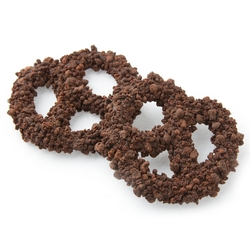 Chocolate Covered Pretzels with Cookie Crumbs - 10CT Box