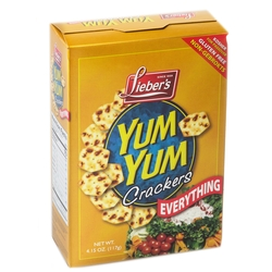 Passover Everything Yum Yum Gluten Free Crackers - 4.15 OZ Box