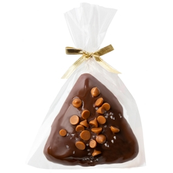 Chocolate Covered Hamantaschen Salted Caramel - 1PC