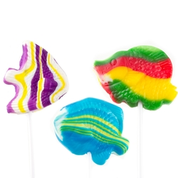 Assorted Fish Lillipops - 15 CT