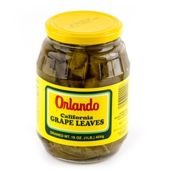 Passover Grape Leaves - 16oz Jar
