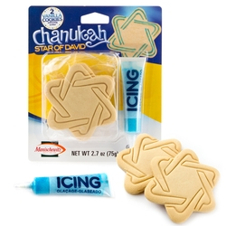 Hanukkah Star Of David Cookie Kit