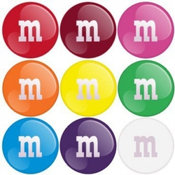 M&Ms By Color