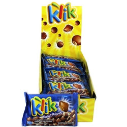 Klik Milk Chocolate Crunch Pillows - 24 CT Box