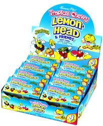 Lemonhead & Friends Mini Candy Balls - 24CT Case