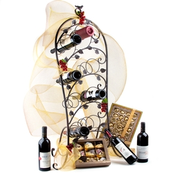 Magnificent Merlot Wine Rack