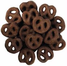 Mini Chocolate Coated Pretzels