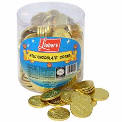 Milk Chocolate Hanukkah Gelt Coin Tub