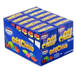 Ooh Chews Sour Fruit - 12 CT