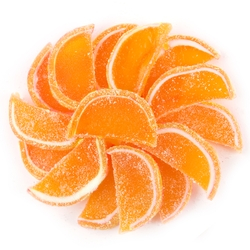 Orange Jelly Fruit Slices - 5LB Box