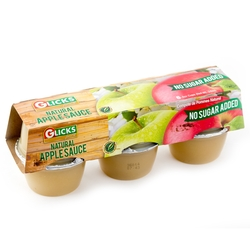 Passover No Sugar Added Apple Sauce - 6CT