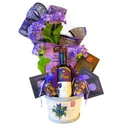 I Love Violet Purim Basket (Israel Only)