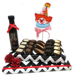 Chocolate Clown Display