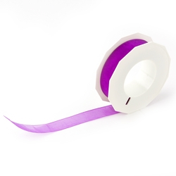 Purple Organdy Ribbon