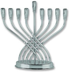 Siver Plated Menorah