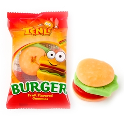 Gummy Burger Candy