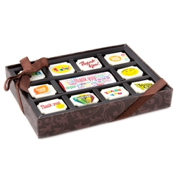 'Thank You' Chocolate Gift Box