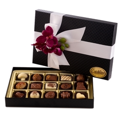 Premium Belgium Truffles Black Box - 15 PC Box