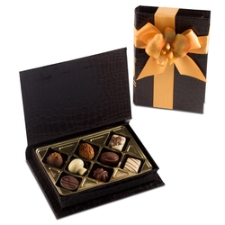 Premium Belgium Truffles Book Box - 8 PC Box