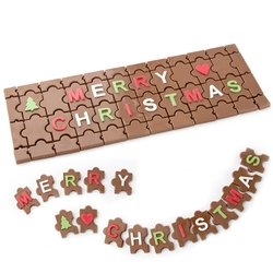 Holiday Chocolate Puzzle Gift Box
